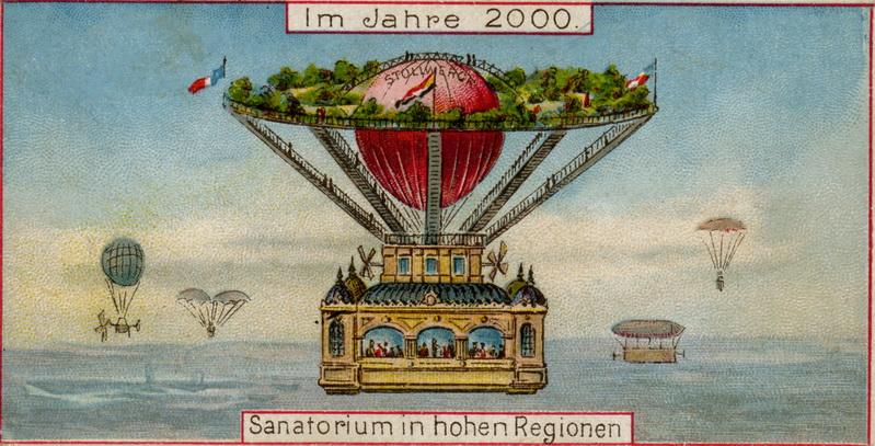 Postkarte Sanatorium